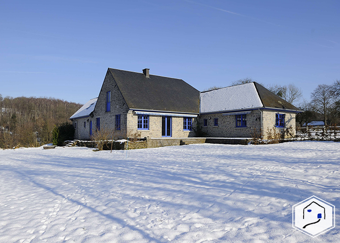 The cottage during the winter